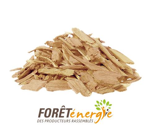 Plaquettes forestières Forêt Energie®